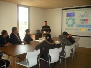 Visita de benchmarking clúster colombià